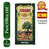 Figaro Olive Oil Tin, 1L - (1000ml)
